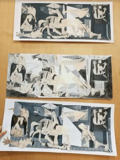 Guernica, Picasso, 9 Year Olds, Joan Miro, Art Rooms, Art Kids, Home Music Rooms