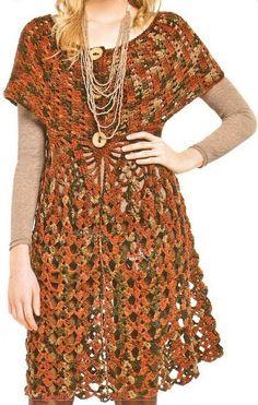 Crochet Sweater: Crochet Dress - Tunic Dress For Women - Free Pattern