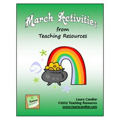 March Activities from Teaching Resources ~ Dozens of printables from Laura Candler including engaging activities for St. Pat's Day, Read Across America, Spring, and Pi Day! $4.50