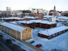 city kemi Seaside, Mansions, House Styles, City, Places, Finland, Manor Houses, Beach, Villas