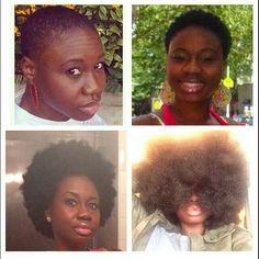 Nice Black Natural Hair Care, Natural Hair Styles For Black Women, Black Hair Care, Natural Hair Growth, Natural Hair Journey, Au Natural, Type 4 Hair, Different Hair Types, Goddess Hairstyles