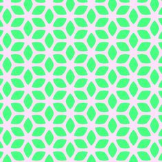 Retro Summer Green fabric by stoflab on Spoonflower