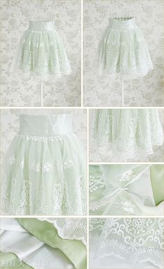 Mango Doll - Embroidered Lace Skirt, $64.00 (http://www.mangodoll.com/all-items/embroidered-lace-skirt/)
