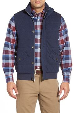 Brooks Brothers 'Canaan' Quilted Vest available at #Nordstrom