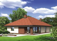 Murator M132 Wariantowy - zdjęcie 2 House Layout Plans, House Layouts, Hut House, House Construction Plan, Sims House Design, Simple House Plans, Model House Plan, Home Decor Styles, Home Projects