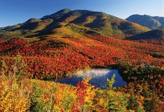 The Adirondack Mountains in autumn | upstate New York