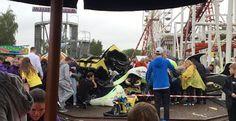 Πολλοί τραυματίες μετά τον εκτροχιασμό τρένου σε λούνα παρκ στη Σκωτία