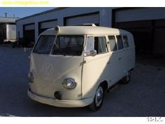 1953 VW Panel bus barndoor Ambulance