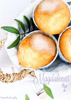 Cupcakelosophy: Magdalenas caseras y esponjosas!!