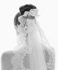 Lace veil ❤