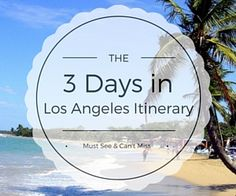 This popular Los Angeles itinerary includes the best things to do during your 3 days in LA. Save on admission & more. Enjoy!