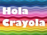 ¡Hola, crayola! & other Silly Spanish Phrases. May use for lunch notes. Tarjetas / Notas para los niños. Notitas Para la Lonchera Gratis.