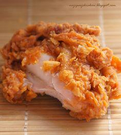 moje pasje: Kurczaki jak z KFC
