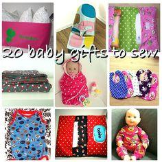 De 20 leukste babycadeautjes om zelf te naaien – Sewing for the baby, 20 great…