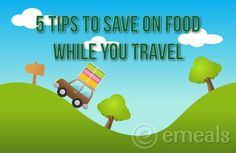 5 Tips to Save on Food While You Travel (from eMeals) Bahamas Vacation, Need A Vacation, Vacation Trips, Vacation Spots, Save On Foods, Road Trip Hacks, Cooking On A Budget, Disney Vacations, Travel With Kids