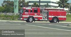 Oxnard Fire Department Engine 65
