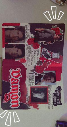 Bullet Journal Lettering Ideas, Bullet Journal Writing, Bullet Journal Ideas Pages, Bullet Journal Inspiration, Art Journal Pages, The Vampire Diaries Characters, Vampire Diaries Guys, Vampire Diaries Poster, Vampire Diaries Wallpaper