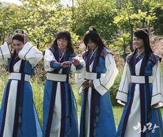 161107 Minho - KBS 'Hwarang' Official Site Update
