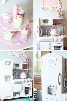 LOVE this kidcraft kitchen- via paigesofstyle- sold at costco and zulily