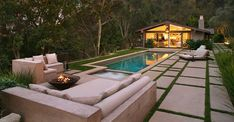 Cliff May Homes Plans | Renovated Modern Ranch House in Brentwood, CA, by Rios Clementi Hale ...
