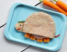 Madpakke-opskrift på pitabrød dine børn ikke kan modstå.