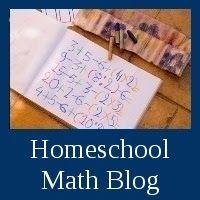 Homeschool Math Blog: Kindergarten math ideas