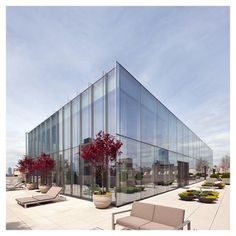 "styletaboo: ""James Carpenter Design Associates - Glass Penthouse [New York] """
