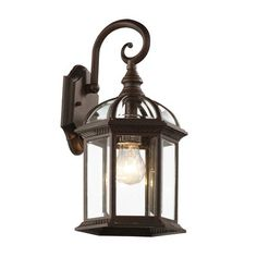 Laurel Foundry Modern Farmhouse Powell Outdoor Wall Lantern Fixture Finish: Black