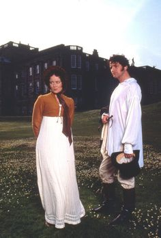 """""""And your parents, they are well?"""" Pride and Prejudice, Jennifer Ehle and Colin Firth."""