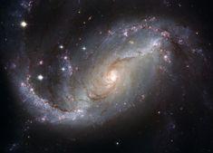 Spiral Galaxy NGC 1672