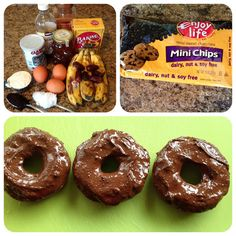 Paleo dessert, paleo donuts! Oh I can't wait to try these!