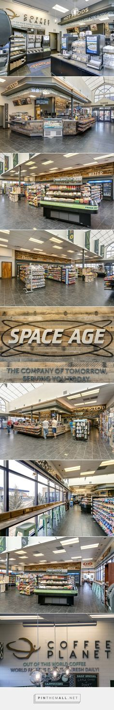 Space Age Fuel Store by King Retail Solutions, Hermiston – Oregon » Retail Design Blog - created via http://pinthemall.net