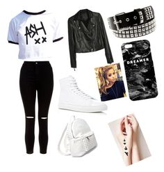 """""""5sos inspired"""" by jade-mckinney on Polyvore featuring New Look, Paige Denim, Common Projects, 7 Chi and Mr. Gugu & Miss Go"""