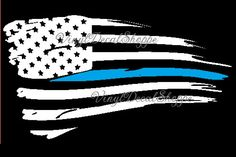 Hey, I found this really awesome Etsy listing at https://www.etsy.com/listing/400308103/thin-blue-line-decal-blue-line-flag-thin