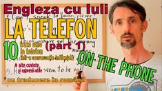 Sa invatam Engleza - LA TELEFON/ON THE PHONE (part 1) - Let's learn Engl... Learn English, Let It Be, Facebook, Learning, Phone, Conversation, Youtube, Instagram, Patterns