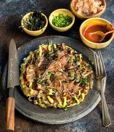 Okonomiyaki (Japanese Pancake) – WILD GREENS & SARDINES