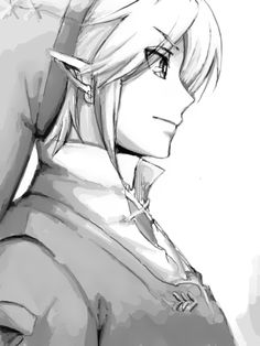 Link. I have tried to draw Link but I failed so hard...