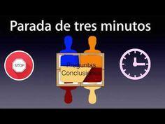 Dinámicas de trabajo cooperativo: Parada de tres minutos - YouTube