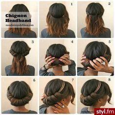 Fryzury  Na co dzień włosy: Fryzury Średnie Na co dzień - Nadia-xx - 2620735
