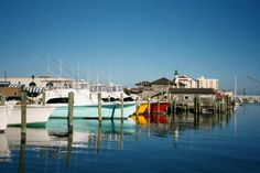 Morehead City harbor, a short drive from Bogue Watch.