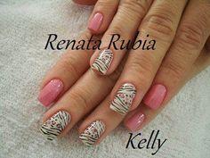 Uñas Decoradas | Diseño De Uñas | Decoración De Uñas : Imagenes ... Pink Nail Art, Pedicure, Nail Designs, Polish, Nails, Beauty, Google, Den, Tutorials