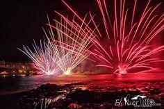 ElPuertillo.com: Espectàculo Pirotécnico en Playa de Melenara