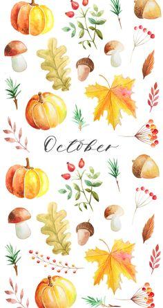 Autumn-Watercolor-Wallpaper-iPhone-OSBP.jpg 852×1 608 пикс
