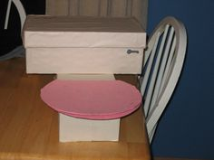 Toilet Valentines Box! You Lift The Toilet Lid To Put In The Cards!