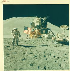 The Moon by San Diego Air & Space Museum Archives, via Flickr. USA, enough said...