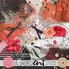 GeoArt {Artsy Bits & Pieces} | NBK Design