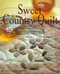 Patchwork japones country yoko saito New Ideas Hand Quilting Patterns, Patchwork Quilt Patterns, Patchwork Blanket, Applique Quilts, Yoko Saito, Japanese Sewing Patterns, Sewing Magazines, Country Quilts, Japanese Books