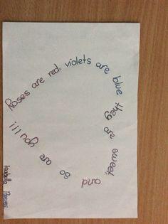 Dibujar un poema