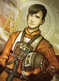 Wedge Antilles from Star Wars Episode 4 A New Hope