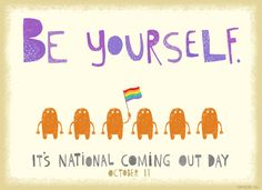 Super lesbian girl the paula goldberg interview 1011 coming out day postcard celebrate the date ecard american greetings m4hsunfo
